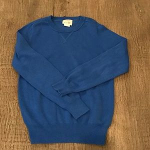 Crewcuts cotton crew neck sweater